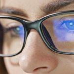 Como funciona a lente com filtro de luz azul?